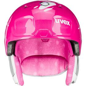 UVEX Manic Kypärä Lapset, pink penguin